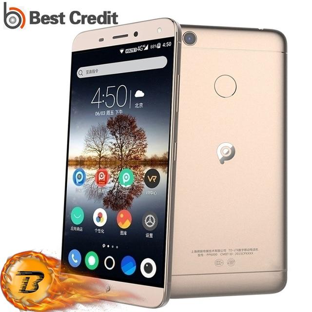 PPTV M1 5000mAh Mobile Phone 5.5 Inch FHD Helio P10 Octa Core 13MP+13MP 3GB RAM 32GB ROM Fingerprint ID Full metal 4G Smartphone