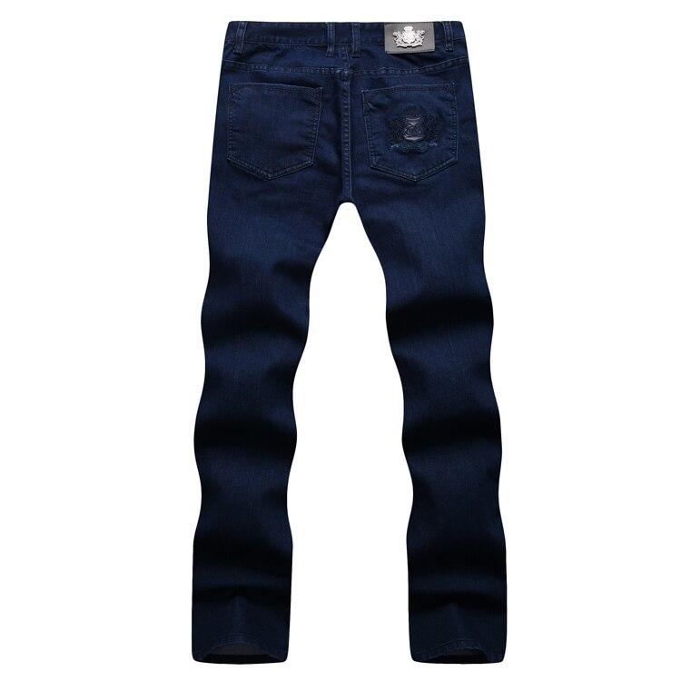 TACE & SHARK miliarder jean mężczyzn 2017 jesień w nowym stylu komfort na co dzień hafty zaprojektowane doskonała jakość spodni bezpłatna w Dżinsy od Odzież męska na  Grupa 3