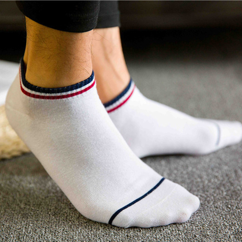 2019 New Arrival Men Teenagers Short Socks Casual Summer Style Bra