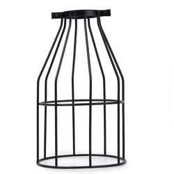 Античный блеск подвесная клетка потолочные светильники подвесной провод металлик-черный Прямая доставка
