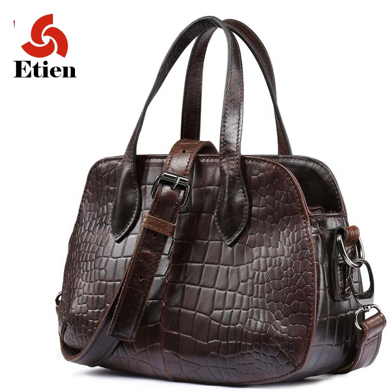 women's handbags genuine leather shoulder alligator tote bag fashion bags of famous brands luxury handbags women bags designer new mini luxury tiger head 3d relief designer alligator serpentine women handbags shoulder leather bags tote bag