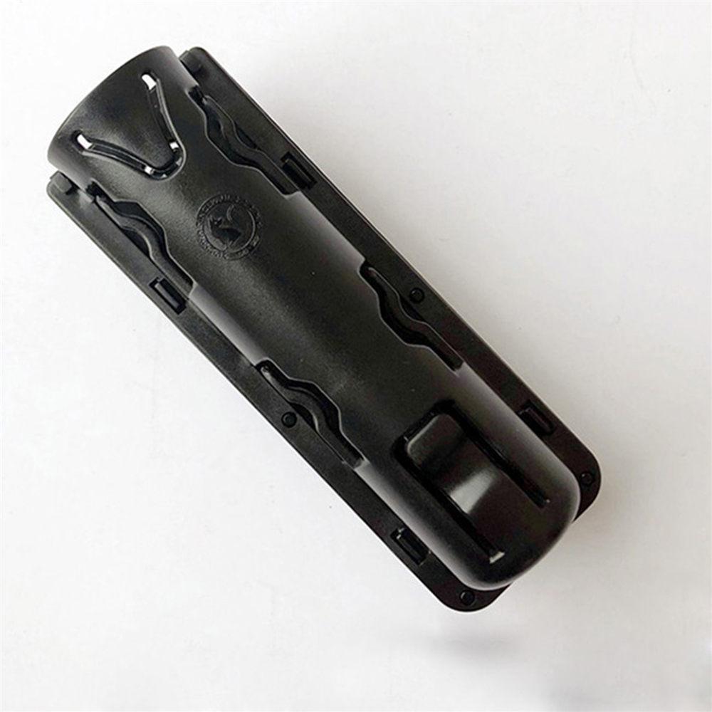 360 Degree Rotation GAS Baton Holster Extensible Black Baton Holder Case Pouch for outdoor police baton telescopic self defense