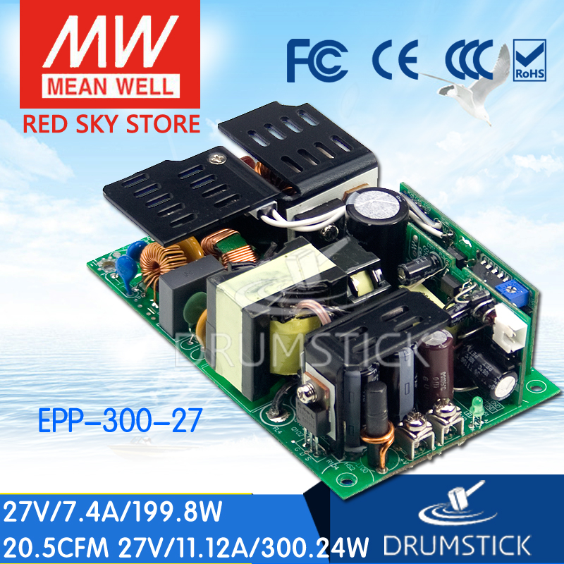Advantages MEAN WELL EPP-300-27 27V 11.12A meanwell EPP-300 27V 300.24W Single Output with PFC Function
