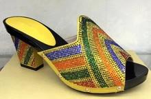 Aliexpress UK 2015 Neue Afrika frauen High Heels Für Frauen Party (YH015-924-yellow)! Afrika frauen Schuhe