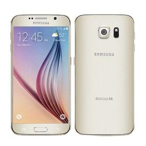 Image 4 - סמארטפון סמסונג גלקסי S6 G920F/G920V/G920A יחיד sim כרטיס אוקטה Core 3G RAM 32GB ROM WCDMA LTE 16MP מצלמה 5.1 אינץ Bluetooth