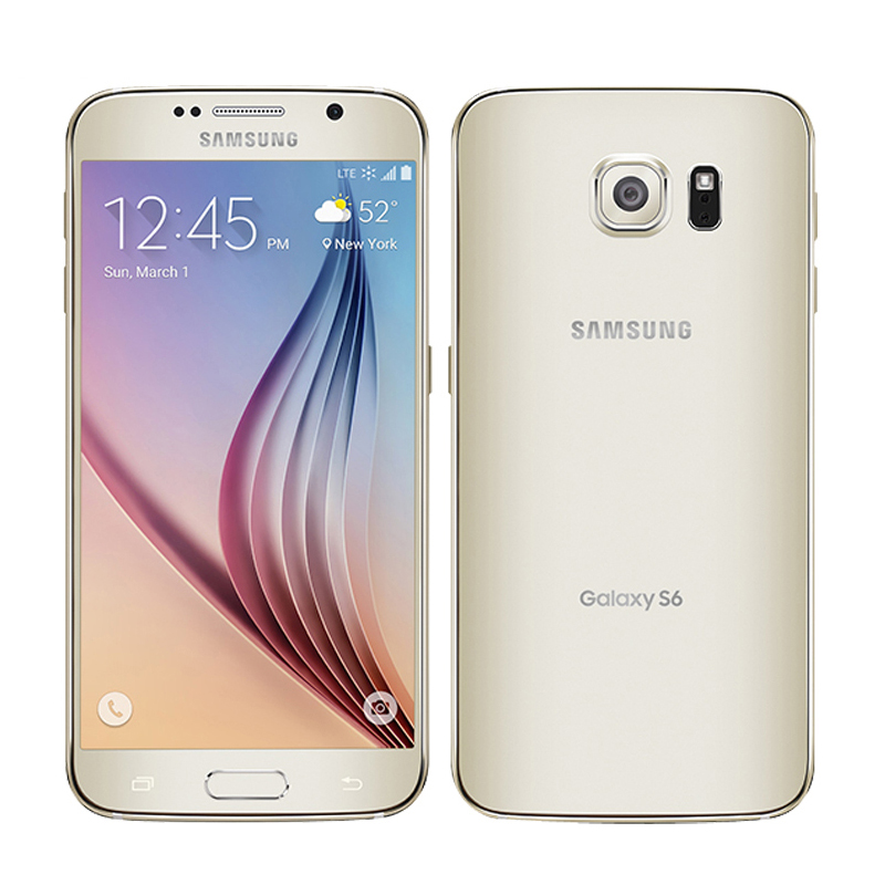 Image 4 - Unlocked Samsung Galaxy S6 G920F/G920V/G920A single sim card Octa Core 3G RAM 32GB ROM WCDMA LTE 16MP Camera 5.1 inch Bluetooth-in Cellphones from Cellphones & Telecommunications