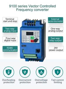 Frequency-Converter VFD Motor-Speed-Controller Three-Phase XSY-AT1 220v-Input Output