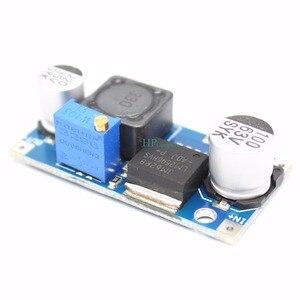 Image 2 - 50 יחידות 48 V מודול רגולטור מתח מתכוונן DC DC LM2596HVS להזין 4.5 60 V