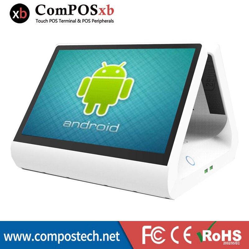 Android sistema pos macchina pos tutto in un pc nuovo touch screen a buon mercato 12 pollice 1cd monitor