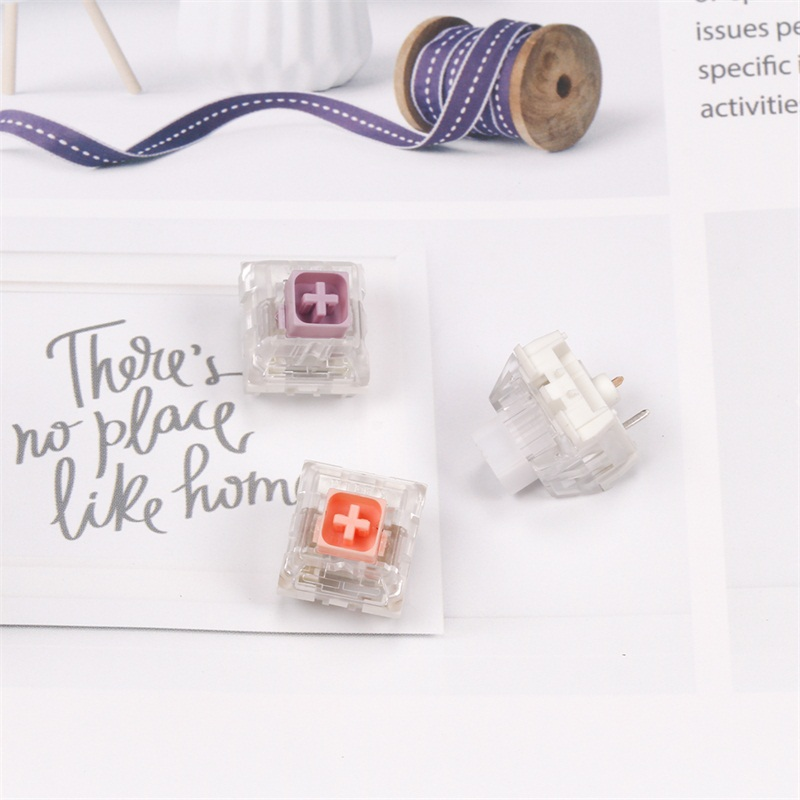 Hako True Violet /clear/Pink  Mechanical Keyboard Switches
