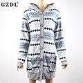 Fashion Women's Autumn Winter Geometric Pocket Woolen Blend Coat Outwear Long Sleeve Hooded Jacket Button Slim Women Coat CL3388