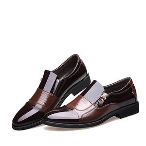 Fashion Loafers Oxford-Shoes Work-Footwear Men Moccasins Slip-On New Business Male Driving