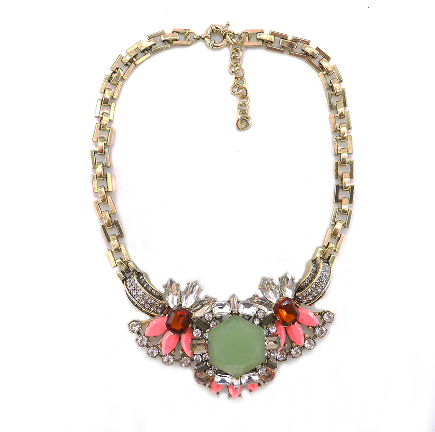 2016 New Women Charm Jewellery Big Rhinestone Luxu...