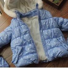 Y 061 зимняя куртка для маленьких девочек пальто для девочек Детская куртка для девочек куртка для малышей зимнее пальто Одежда для девочек детская одежда, парки