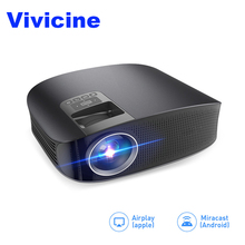 VIVICINE Portable Full HD Projector,3600Lumens High Brightness Home Theater Proyector,Optional Wired Mirroring Multimedia Beamer