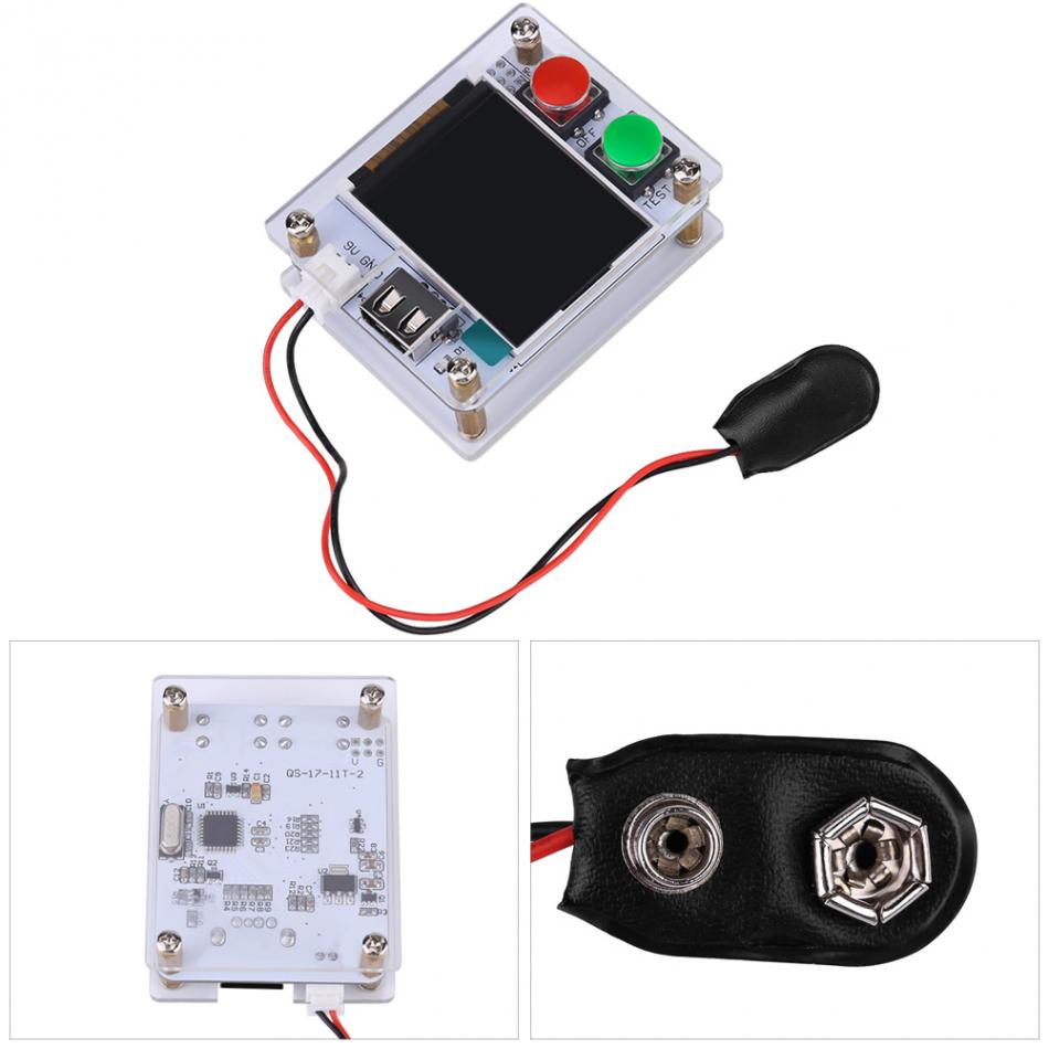 Multi Function Component Tester Transistor Diode Capacitance Esr Testing Circuit Board Components When That Are Welded To A Boardbe Sure Disconnect The Power From Residual Voltage Is Not Allowed On
