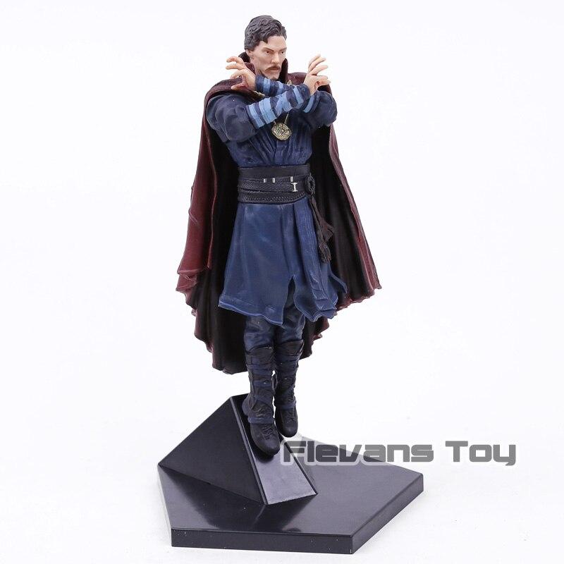 Marvel Comics les Avengers Infinity War Superhero Statue docteur étrange Iron Studio dr Srtange Figurine jouets