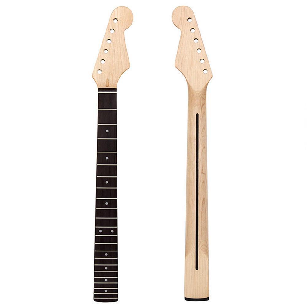 Guitare électrique cou érable bois Guitarra cou pour garde-boue Strat ST TL remplacement Fretboard 22 Fret guitare partie accessoires