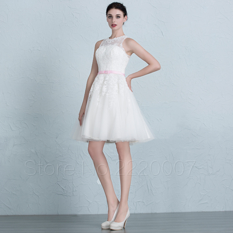 Popular mini bride dress buy cheap mini bride dress lots for Simple elegant wedding dress designers