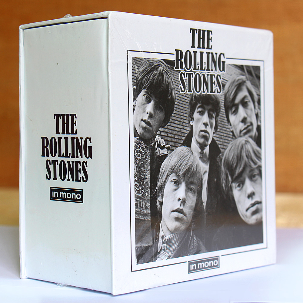 The Rolling Stone In Mono 15CD Box Set Free Shipping Rolling Stone CD Chinese Factory NEW SEALED VERSION цена 2017