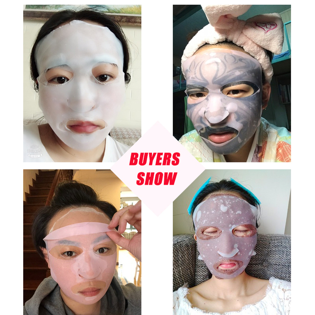 Silicone Face Mask for the Face Sheet Mask Anti-off Mask Ear Fixed Prevent Essence Evaporating Reusable Face Mask Skin Care Tool 4