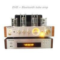 Nobsound ms 10d MKII bluetooth усилитель + DVD проигрыватель компакт дисков usb аудио/видео плеер сигнал Выход коаксиальный/Оптика/ RCA/HDMI/S Video
