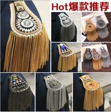 Patchs en strass pour vêtements, en métal, perlés, à coudre, appliqués