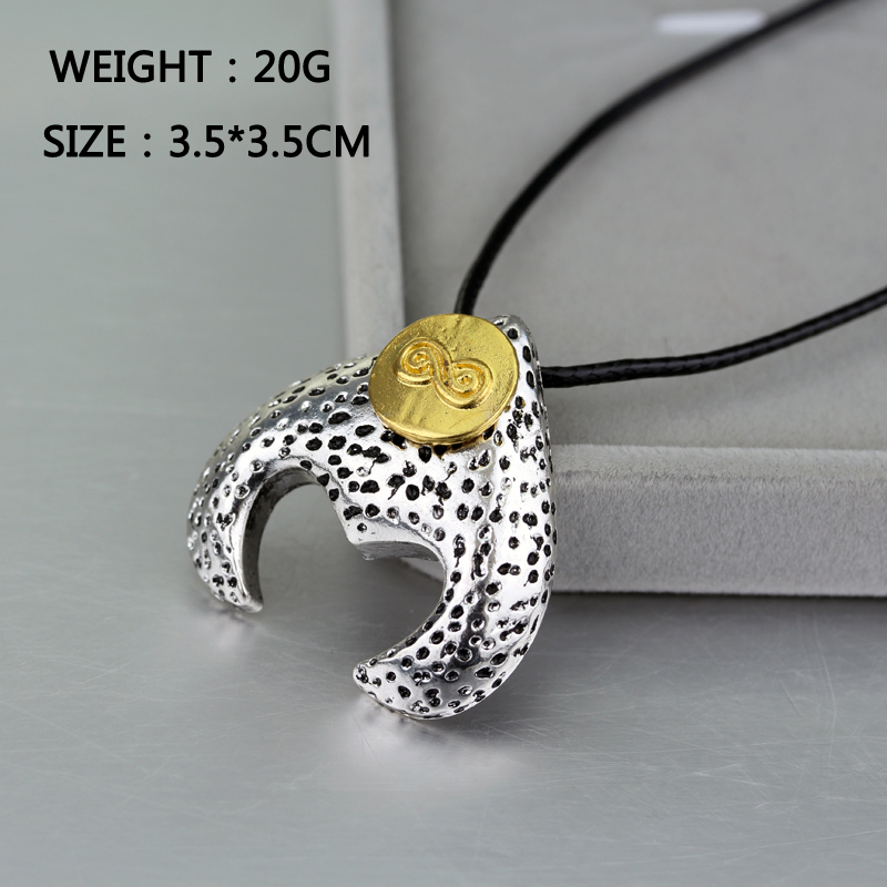 The Maze Runner Labyrinth Necklace David Bowie Magic Pendants&Necklaces Fashion Jewelry Gifts