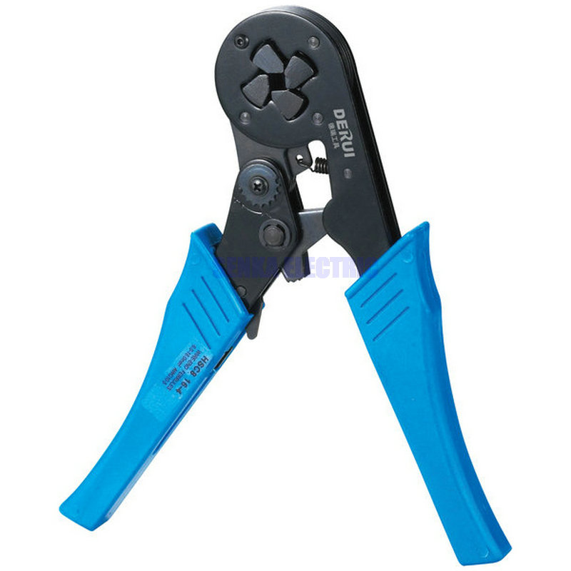 Crimping Tool HSC8 16-4 Piler Capacity 4-16mm2 12-6AWG Cable Crimper self adjustable cable end sleeves ferrules awg 12 6 4 16mm2 crimper piler