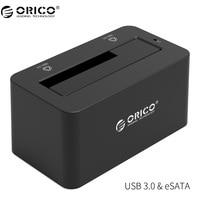 ORICO ESATA HDD Enclosure 5Gbps Super Speed USB 3 0 To SATA ESATA Hard Drive Docking