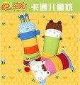 A child's pillow cute cartoon pearl cotton baby pillow of tartary buckwheat shell kindergarten baby pillow