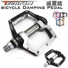 Factory production10321 TECHKIN double buffer pedal bearing bearing ultra light Aluminum Alloy Mountain / road bike
