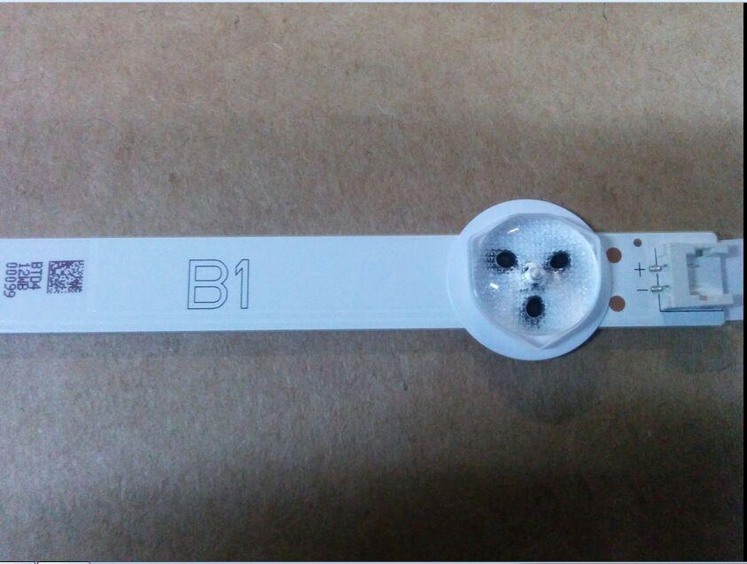 100% NEW For LG Backlight KIT 6916L-1438A B1 6916L-1437A B2 32LN5400 32LN577S 1set=3PCS (1PCS=7LED)
