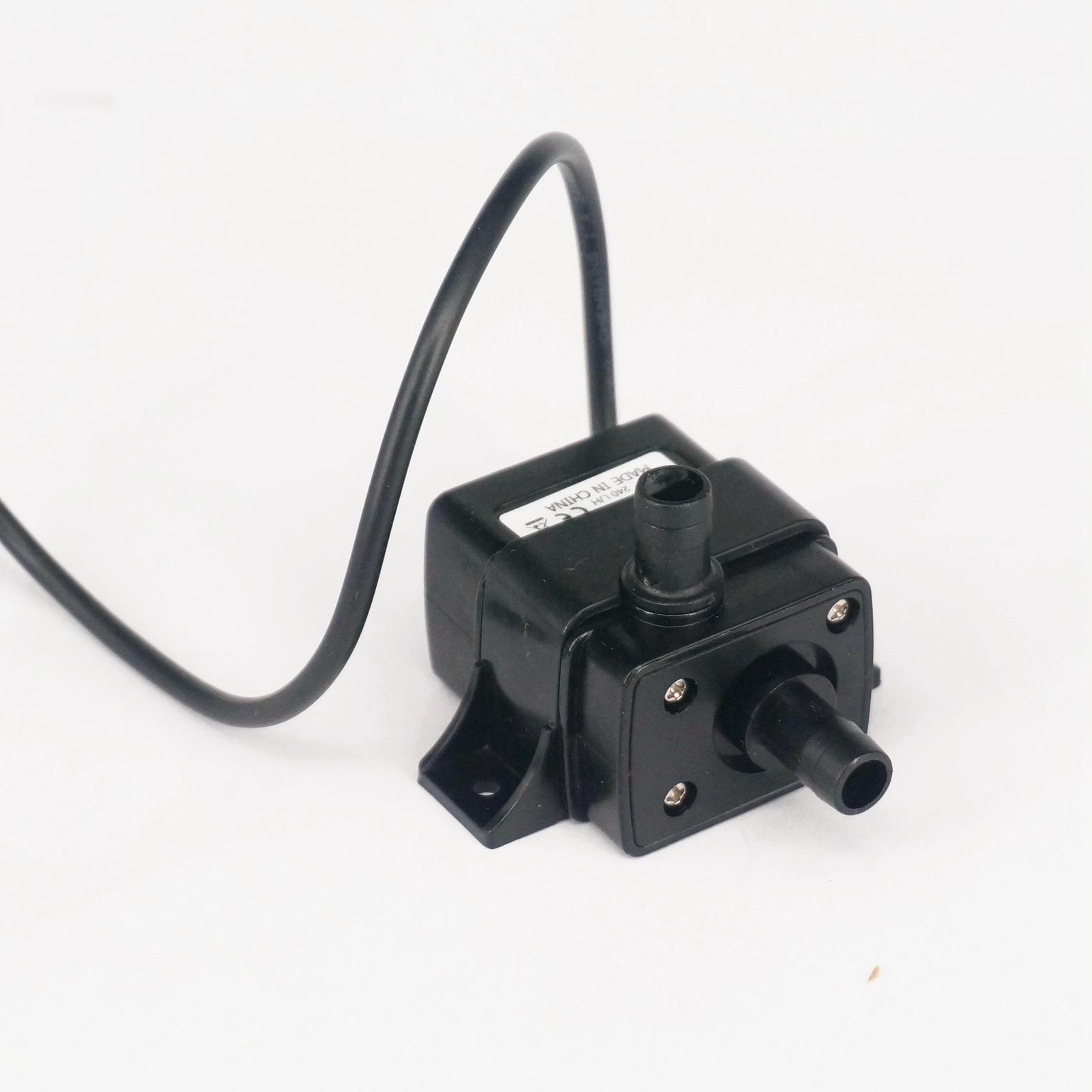 12 В DC Электрический мини водяной циркуляционный насос бесщеточный мотор погружной насос для гидропоники медицинский 4,8 Вт 0-60 градусов Цель...