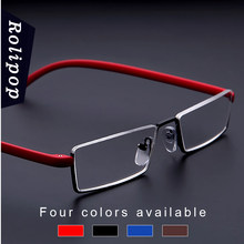 TR90 reading glasses for men mini magnifying glasses female dioptre glasses focus plus points +1.0 1.5 2.0 2.5 3.0 3.5 4.0(China)