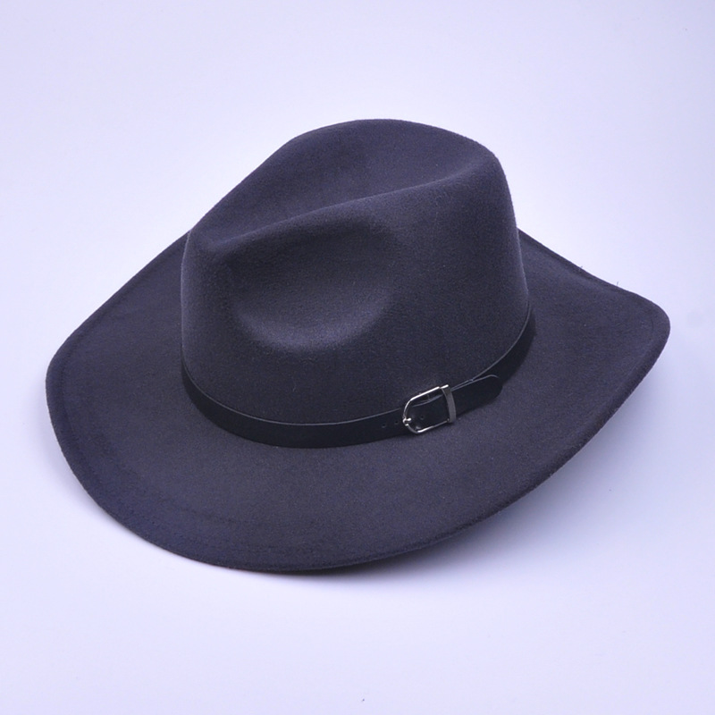 965d04e2e US $20.44 27% OFF|2017 Hot Sale New Unisex fashion western cowboy hat  tourist hat western hat gorras AW7228-in Men's Cowboy Hats from Apparel ...