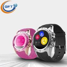 GFT KW08 smartwatch smart wtach sim mit pulsmesser und schlaf tracker wasserdicht männer sports armbanduhr für android-handy
