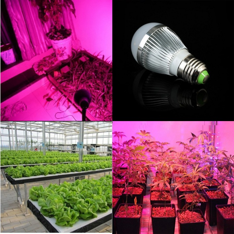 Full spectrum Led Plant light 14W E27 E14 LED Grow lamp bulb for Flower plant Hydroponics