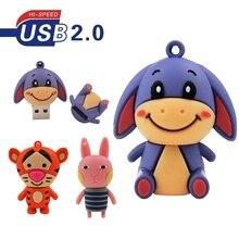 Tiger Flash USB Drive Memory Stick USB 2.0 Pen Drive 4GB 8GB 16GB 32GB 64GB