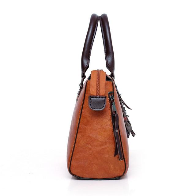 Women Composite Bag Luxury Leather Purse and Handbags Famous Brands Designer Sac Top-Handle Female Shoulder Bag 4pcs Ladies Set 3