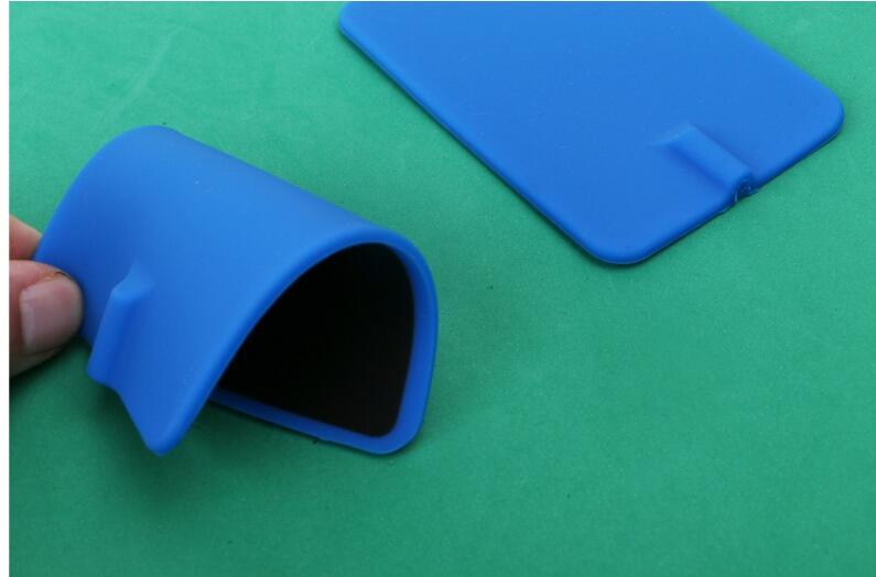 20PCS 7 11cm EMS TENS Reusable Replacement rectangular Rubber Pads Carbon Flex Electrodes pad large for