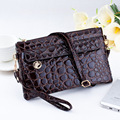 2017 Famous Brand Style Crocodile Ladies Handbags Day Clutches Zipper Women Envelope Clutch Purse Messenger Bag Bolsa Feminina