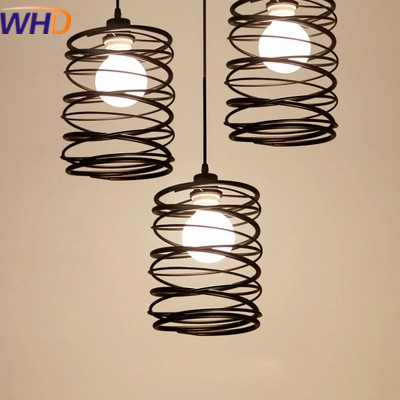 IWHD Modern LED Pendant Lights Fashion Iron lamp shade Luminaire Dining Room Lights Spring Pendant Lamp For Home Lighting iwhd iron led pendant lights modern fashion bedroom hanging lamp dining room suspension luminair home lighting fixtures lampara