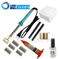 7 in 1 tp-2500 UV glue Optical Clear Adhesive dispergator + solder iron Hot Blade Decal Remover glue LCD touch screen repair