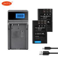 EN EL9 Oplaadbare Batterij 2 Pc Batterij 1300 Mah EN EL9 + 1 Pc EN EL9 Lader Voor Nikon EN EL9a D40 D60 D40X d5000 D30-in Opladers van Consumentenelektronica op