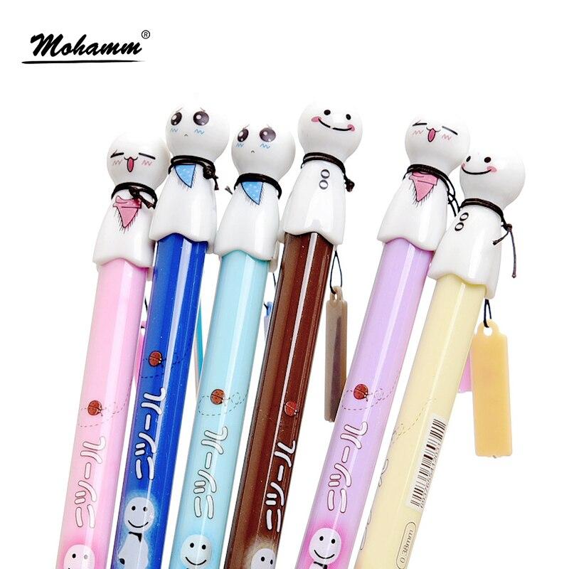 0.38mm Japanese Sunny Doll Sakura Black Kawaii Cute Gel Pen School Office Supplies Stationery