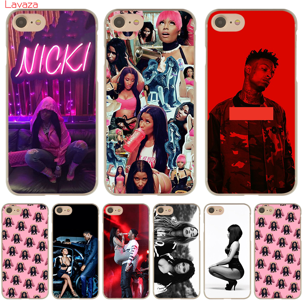 Lavaza Nicki Minaj Hard Phone Case Shell for Apple iPhone 6 6s 7 8 Plus 4 4S 5 5S SE 5C for iPhone XS Max XR Cases in Half wrapped Cases from Cellphones Telecommunications