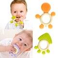 Con seguridad Mordedor Bebé de Silicona Forma Animal Formación Dientes Cuidado Dental cepillo de Dientes Mastica Bebé Mordedor bebé Massager Del Cuidado Del Bebé