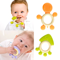 Safely Silicone Baby Teether Animal Shape Training Tooth Chews Baby Dental Care Toothbrush Infant Teether Massager Baby Care