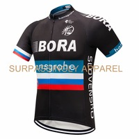 Men Riding Cycling Jersey Team Moto MX MTB Off Road Mountain Bike DH Bora Bicycle Jersey